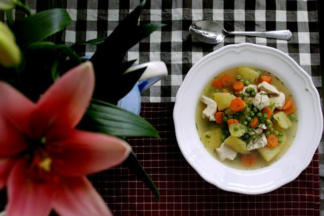 Rýchla jarná polievka