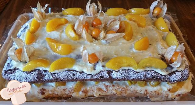 Naked cake 3 - Bolo de festa