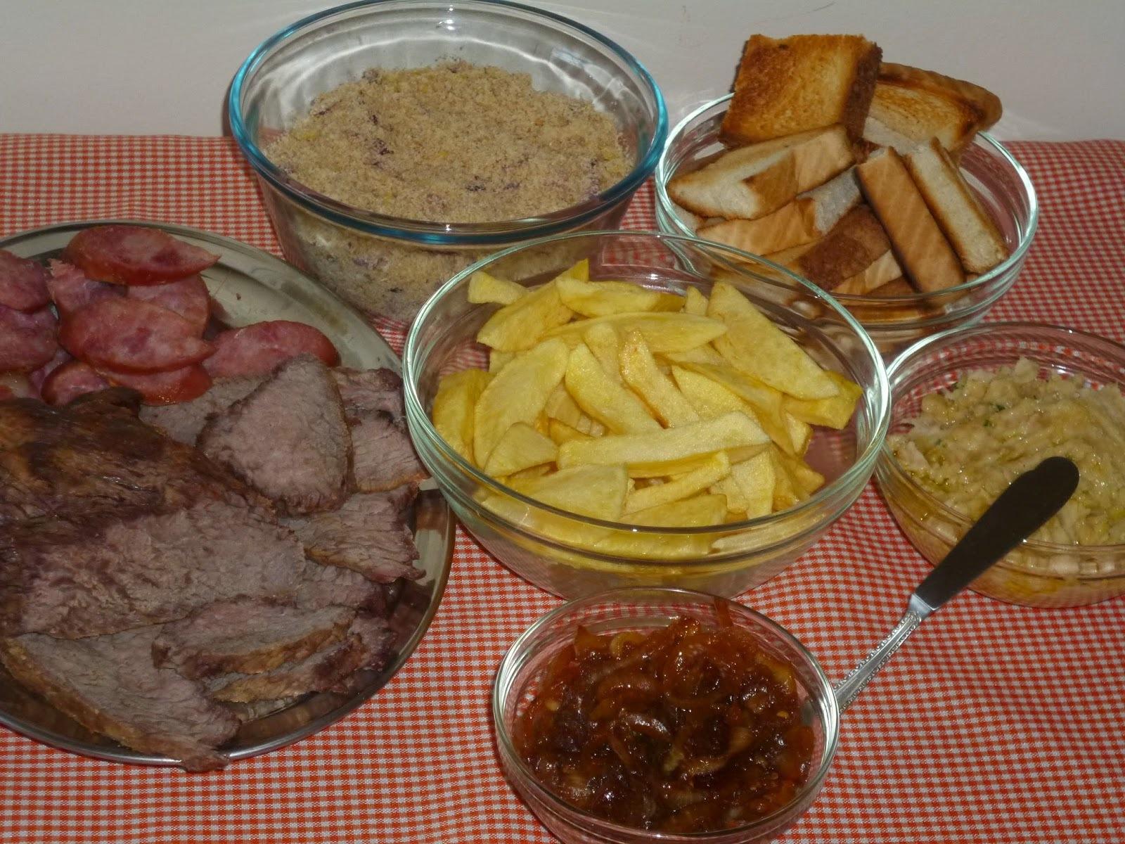 ALCATRA COM MAMINHA  NO SAL GROSSO (assada no forno)