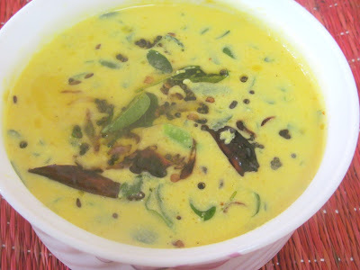 Muringa ila moru curry/ Drumstick leaves curry