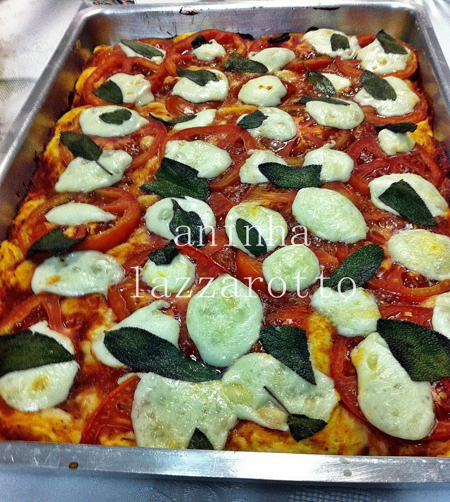 Pizza Margherita e um Mal que pode ter vindo para o Bem! Mostra a tua força Brasil!!!