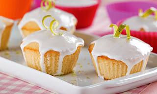 Cupcake fofo de limão