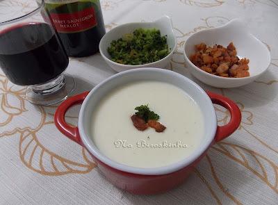 Sopa Creme de Queijo