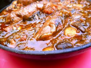 quiche with porcini