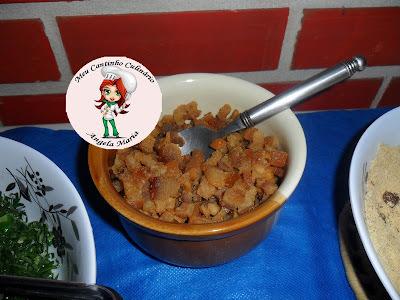 Torresminho pururuca (acompanhamento para uma feijoada com 30 pessoas)