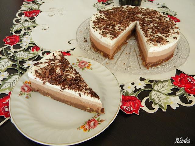 csokis kekszes torta