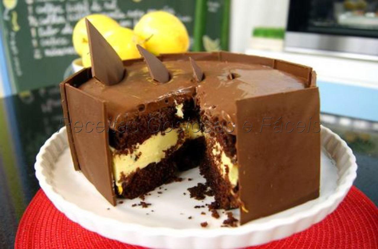 Bolo Chocolate com Maracujá