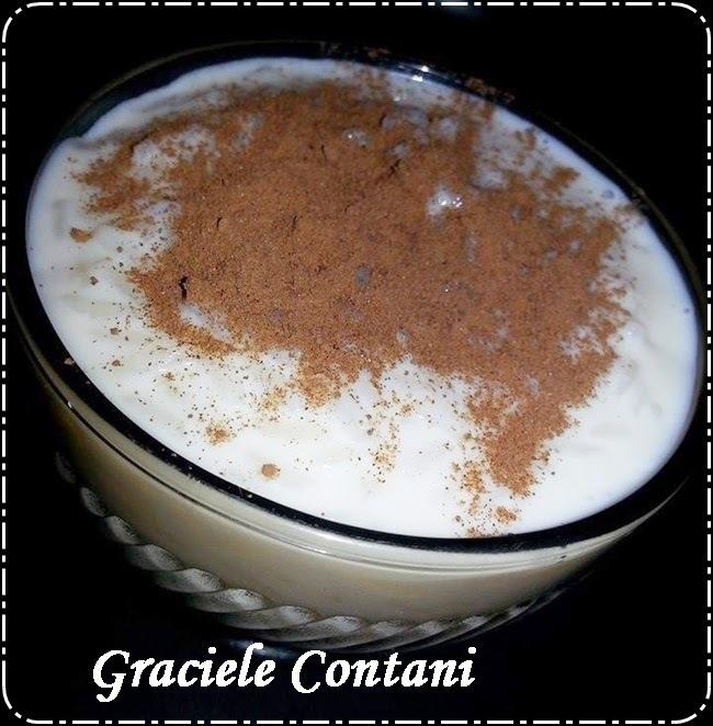 Arroz doce com leite condensado e creme de leite, de Graciele Contani