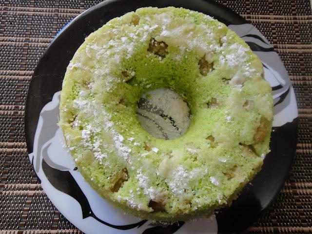 bolo de milho verde com iogurte natural