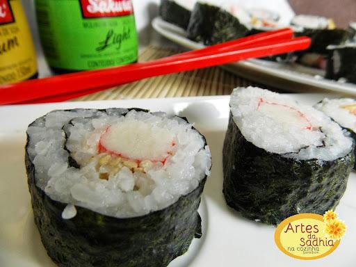 idéias de recheio para sushi