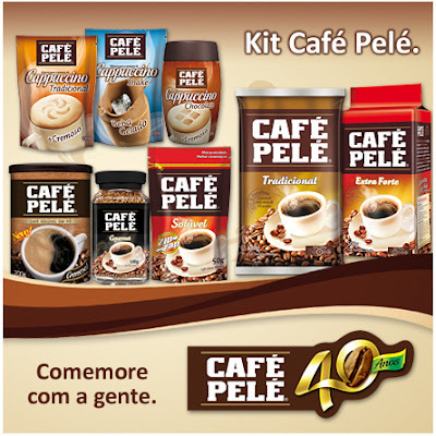SORTEIO DO KIT CAFÉ PELÉ E PARCERIA - ENCERRADO