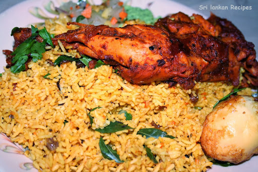 Sri lankan biryani rice recipe