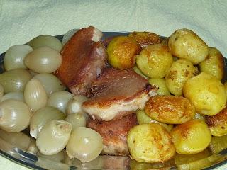 lombo salgado cozido com batata