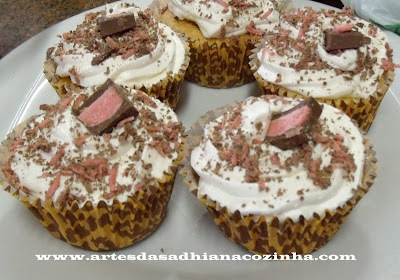 de cobertura de cupcake que vai emulsificante