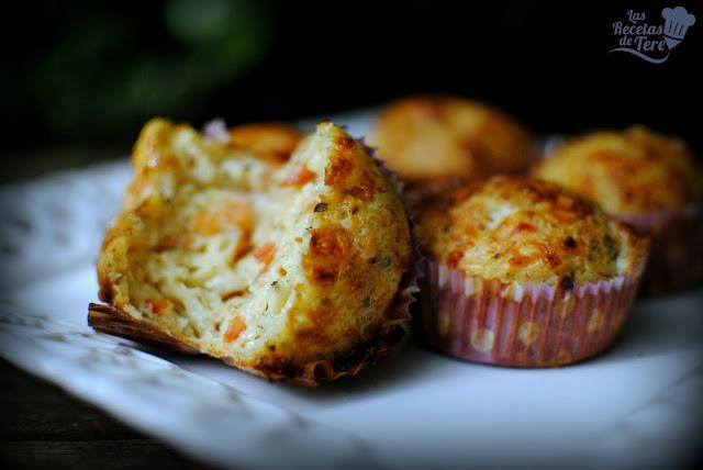 Pizza muffins.