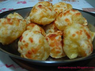 Pão de queijo e curso de pães do Senac