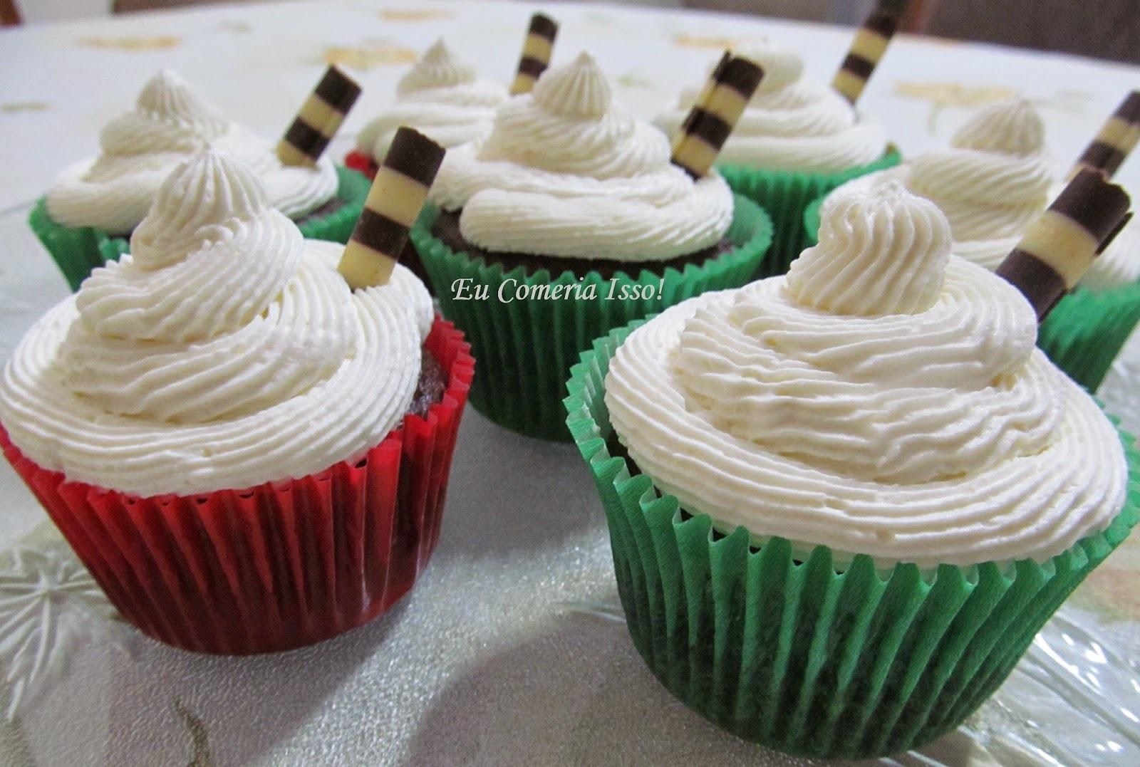 Cupcakes de Doce de Leite com Chantininho