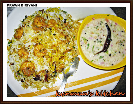 PRAWN DUM BIRYANI (SHRIMP BIRYANI) RECIPE