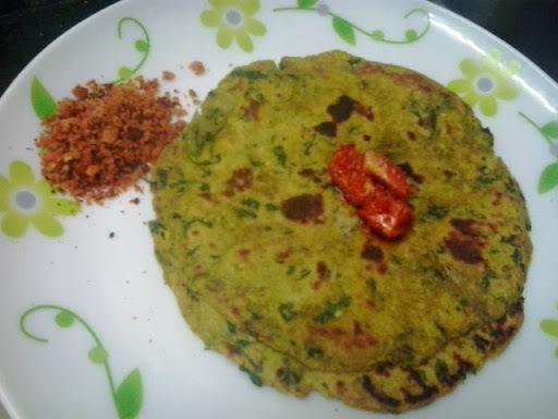 Bajra methi thepla |methi thepla with bajra flour