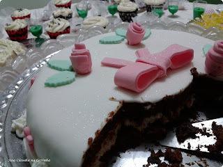 glace simples para confeitar bolo