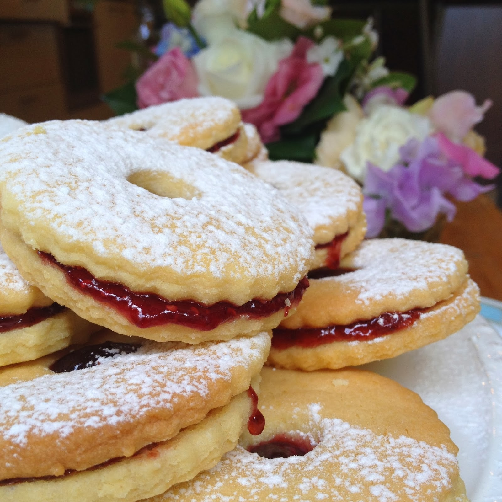 Homemade Shrewsberry Biscuits