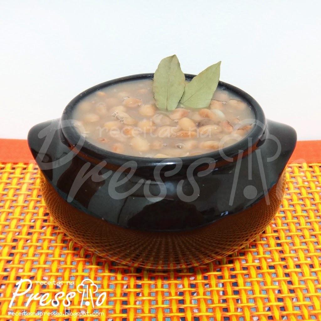 como fazer sopa de feijao na panela de arroz eletrica