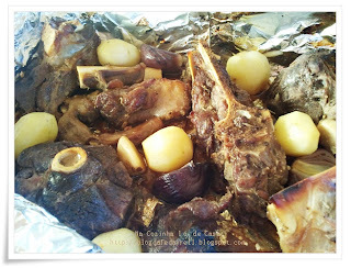 Carneiro Agridoce com Batatas