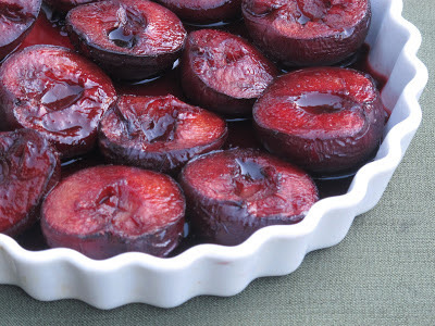 Mulled Plums