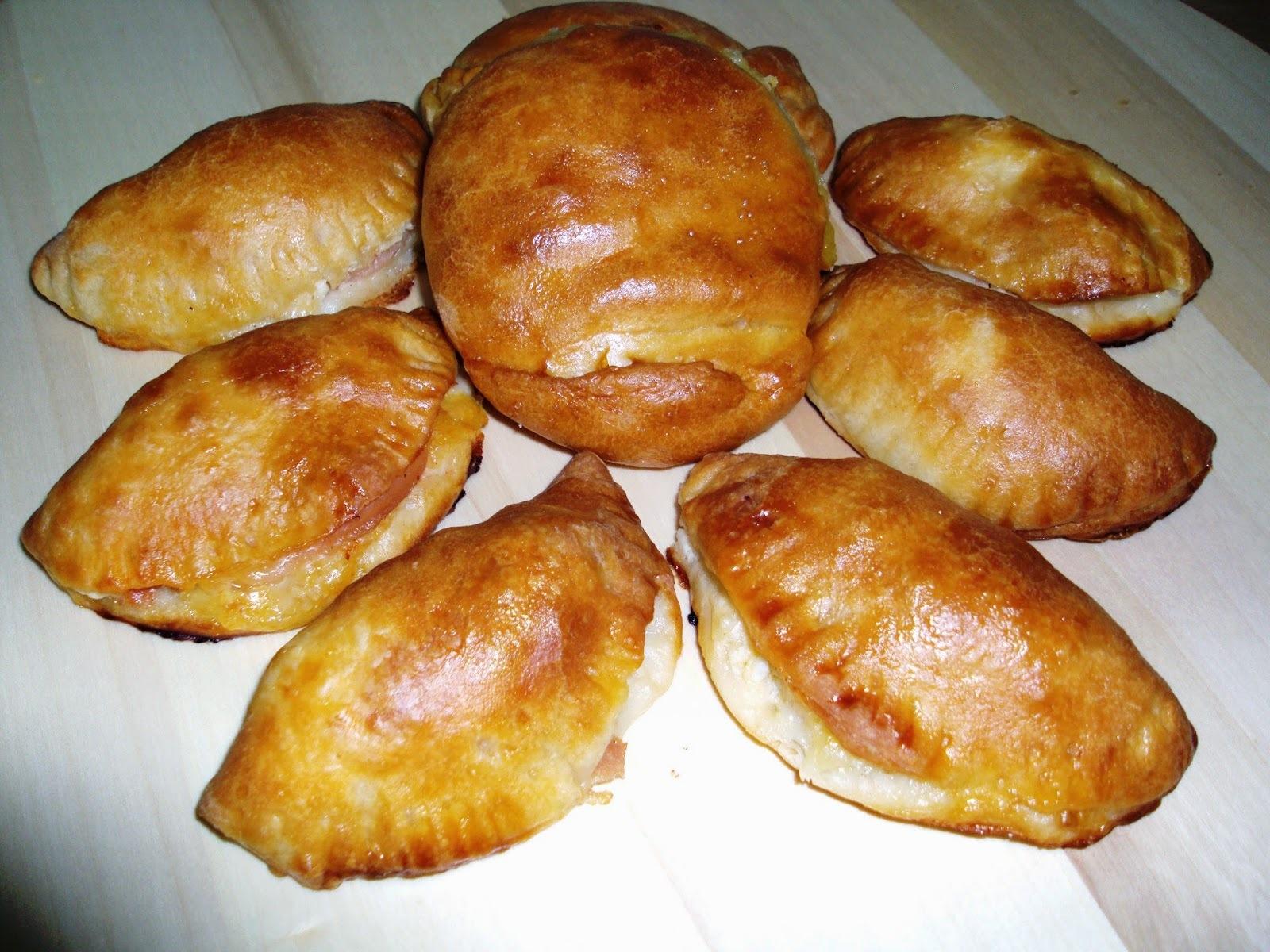Πιτάκια με ζύμη γιαουρτιού