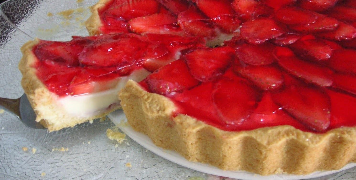 Torta de Morango #Terça-Feira
