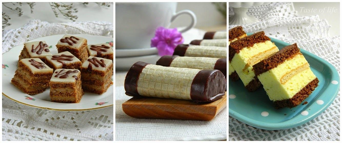 Sitni kolači-tri recepta