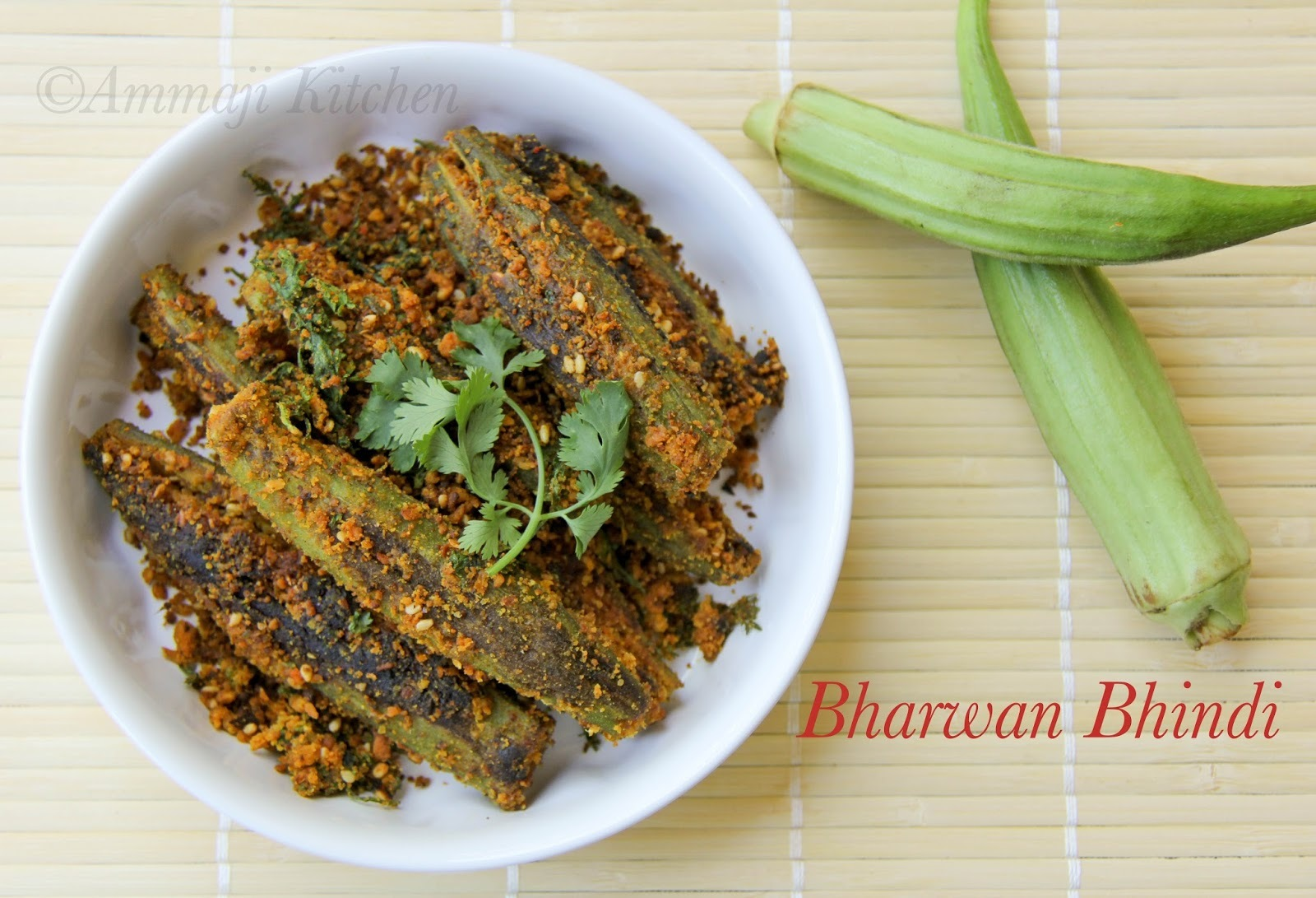 Bharwan Bhindi | Stuffed Okra Curry