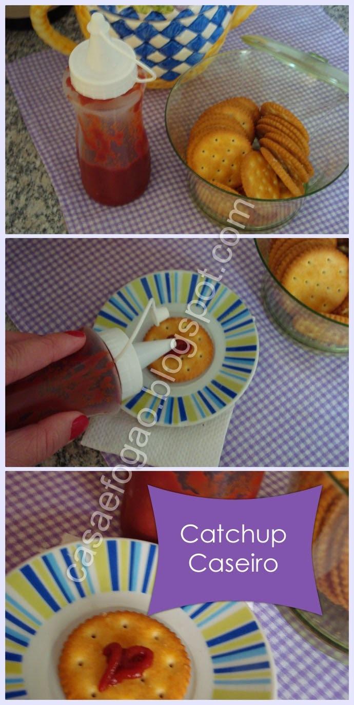 Catchup Caseiro (delicioso)