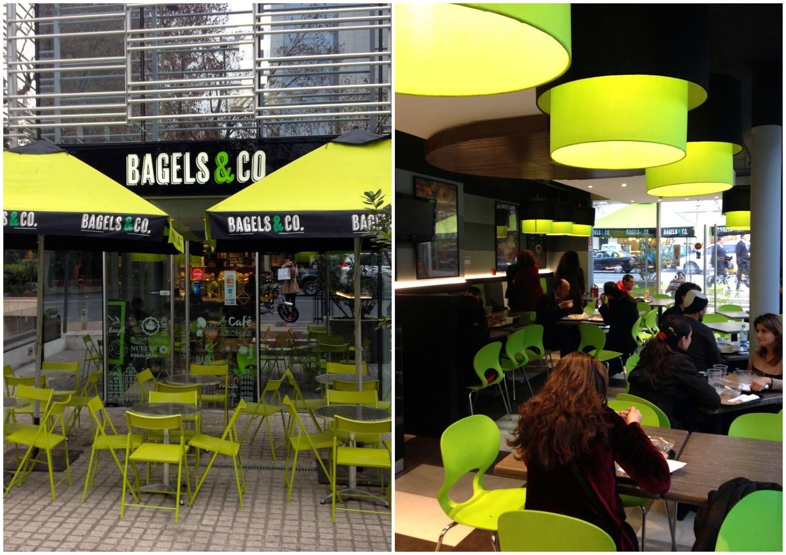 Recomiendo: Bagels & Co