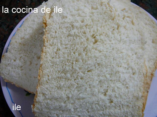 Pan de molde en la Moulilnex