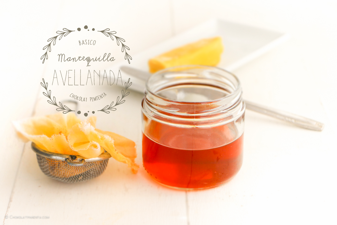 Mantequilla Avellanada - Beurre noisette