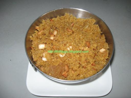 Aval Puttu (Puffed Rice Puttu)