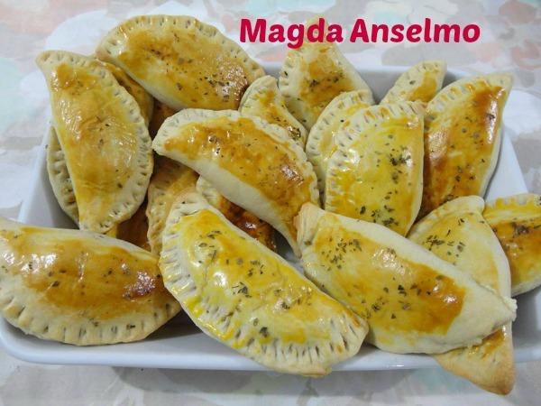 Pastel de forno com massa de guaraná: Magda Anselmo