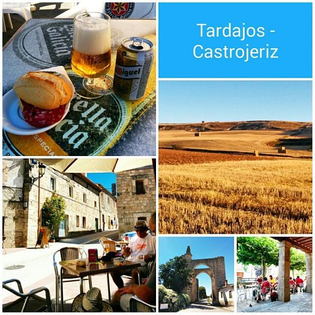 Camino de Santiago, etapa 12: Tardajos - Castrojeriz. Los estragos del calor