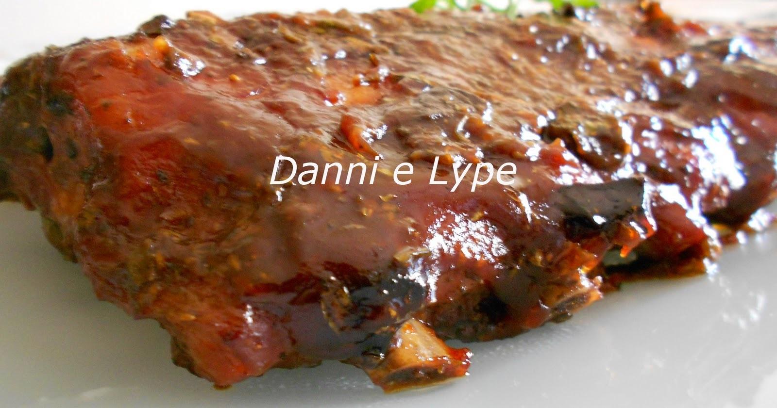 costelinha de porco cozida com molho de alho mais voce