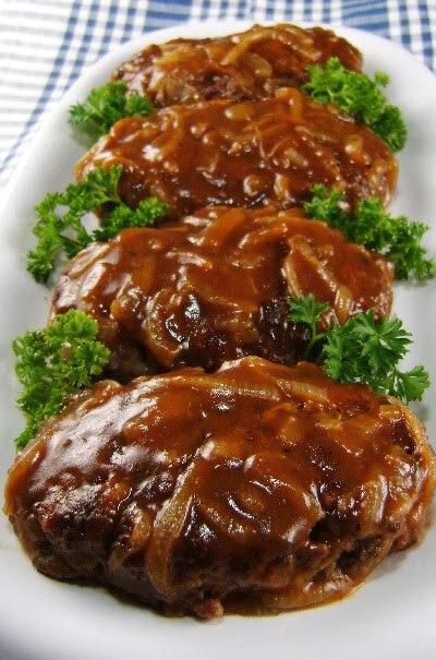 Bife de carne moída