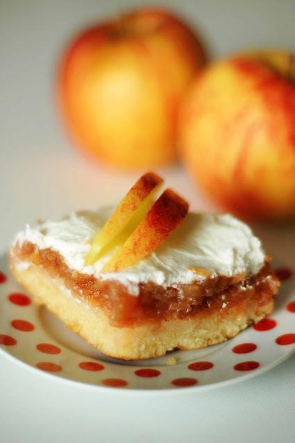 obrátený jablkový / upside-down apple pie