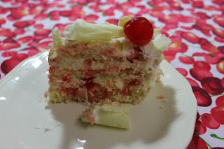 como fazer geleia colorida para bolo