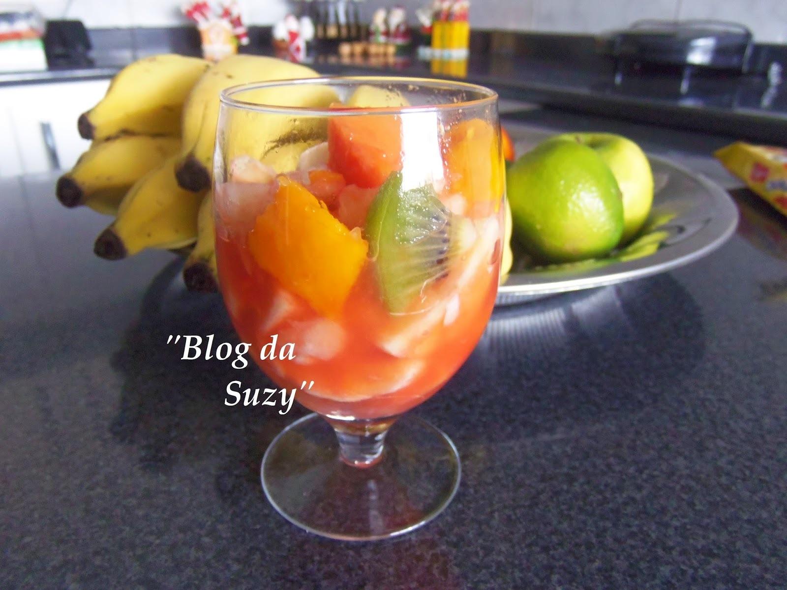 Salada de Frutas - Conservando por mais tempo (dica)