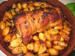Lombo de Porco com Damascos e canela...Especial de Natal e Ano Novo.