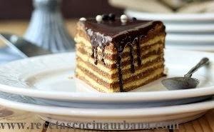 torta alemana en capas