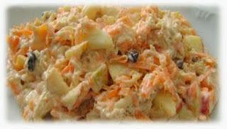 """""""Salpicão"""" com batata yacon"""