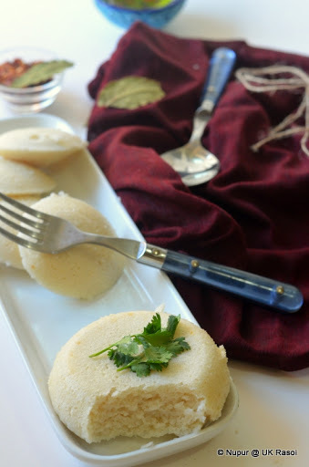 Sannas - Mangalorean Sweet Idlis