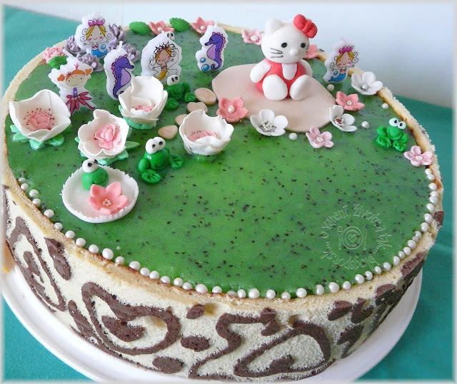 Rybníček Žaburníček alebo torta pre Agátku