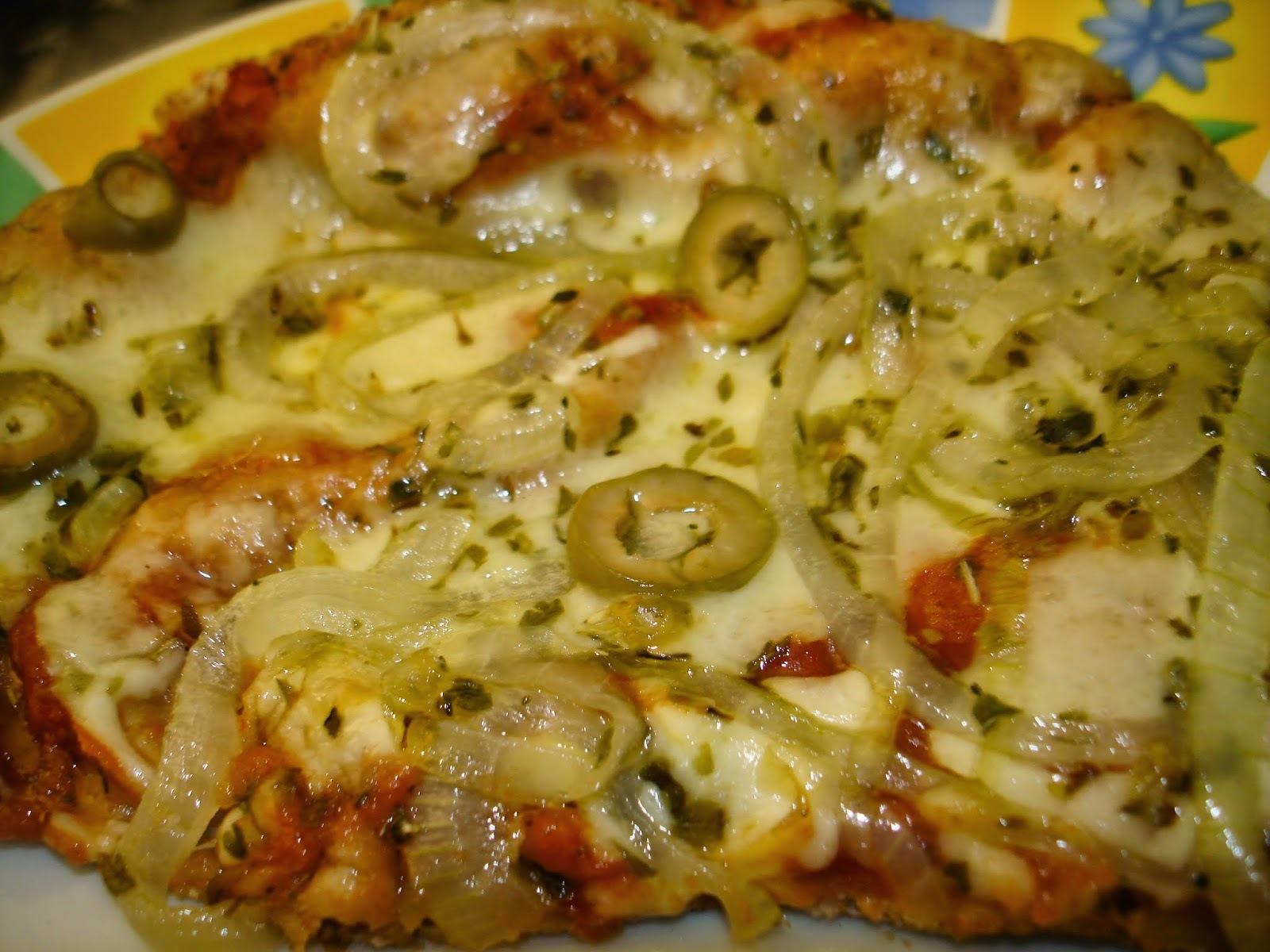 Pizza de Pão Sírio Integral: rápido e gostoso, todo mundo pode ajudar!